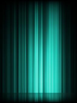 青いオーロラの背景。