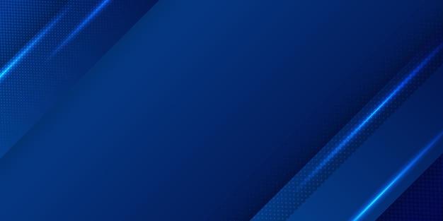 青い背景デザイン。