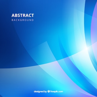 Blue background in abstract style