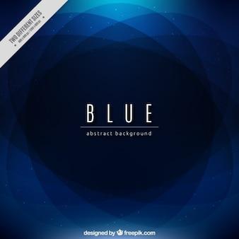抽象的な形の青い背景