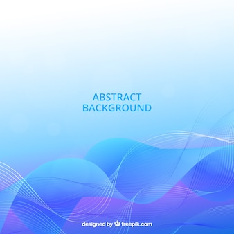 Blue background with abstract style