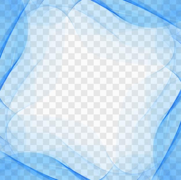 매력적인 모양으로 파란색 배경