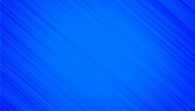 ハーフトーンの対角線と青い背景
