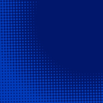 Blue background with halftone effect