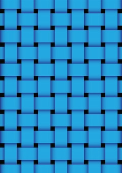 Blue basket weave texture background