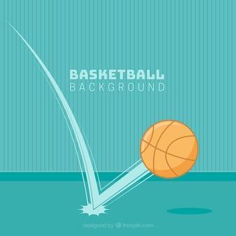 블루 농구 배경
