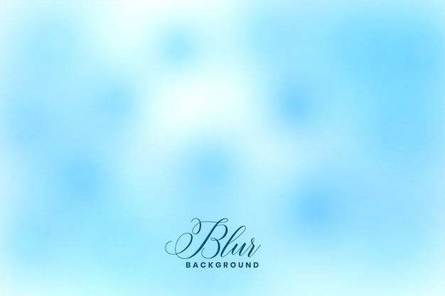 Blue blurred bokeh effect elegant background design