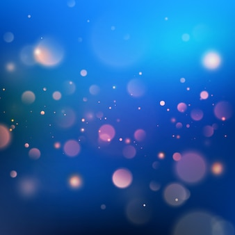 Blue bokeh abstract background. and also includes