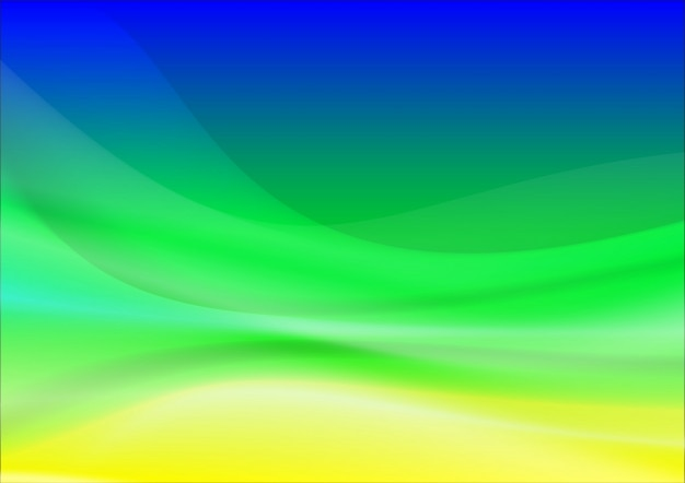 Blue brazil abstract background made of light splashes and curved lines