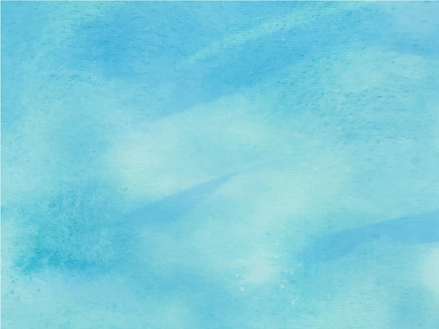 青く明るい水彩画。抽象的な水彩画