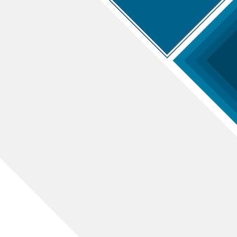 ブロックと青いビジネス背景