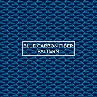 Blue carbon fiber pattern
