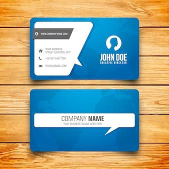Blue card template