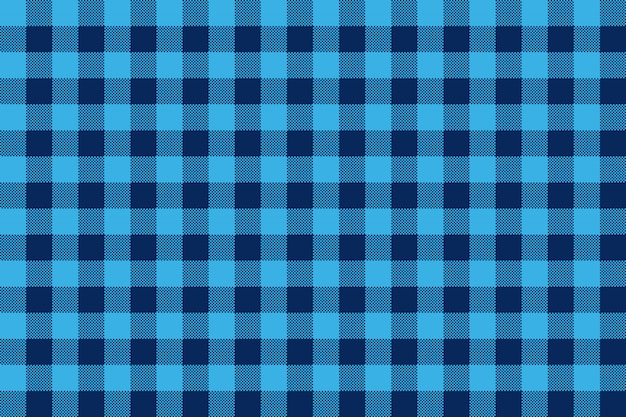 Blue check seamless background