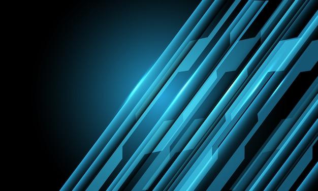 Синяя схема с пустым пространством футуристический фон технологии.