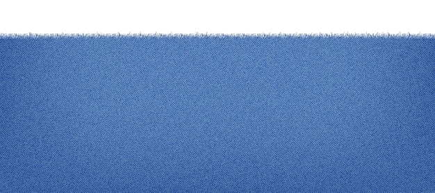 Blue classic jeans denim texture with a ragged edge. light jeans texture. realistic   illustration.