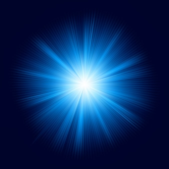 Blue color design with a burst.   file included