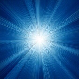 A blue color  with a burst.
