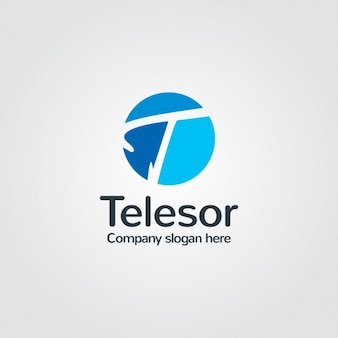 블루 회사 로고