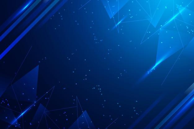 Синий космический цифровой фон