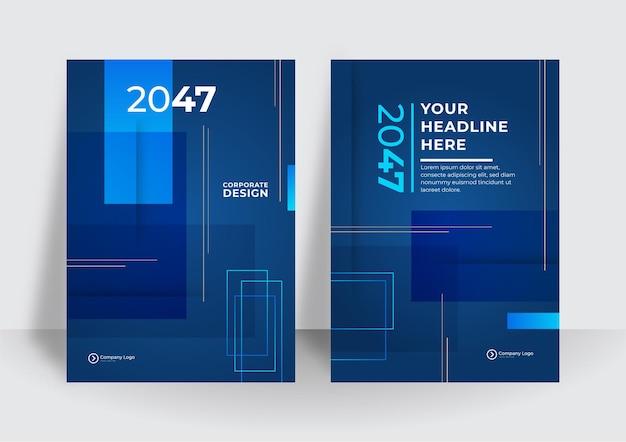 블루 기업 아이덴티티 커버 비즈니스 벡터 디자인, 전단지 브로셔 광고 추상적 인 배경, 전단지 현대 포스터 잡지 레이아웃 템플릿, 프레 젠 테이 션에 대 한 연례 보고서.