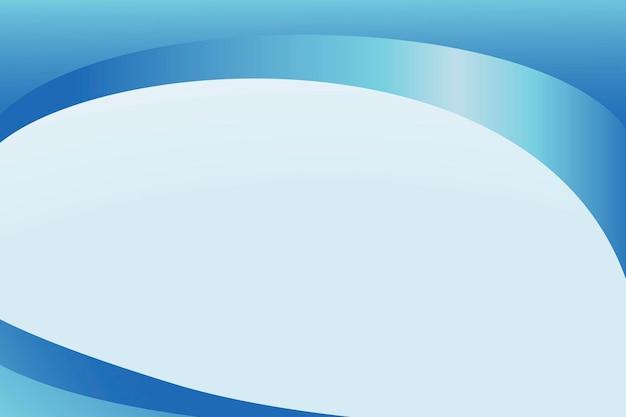 青い曲線の抽象的な背景