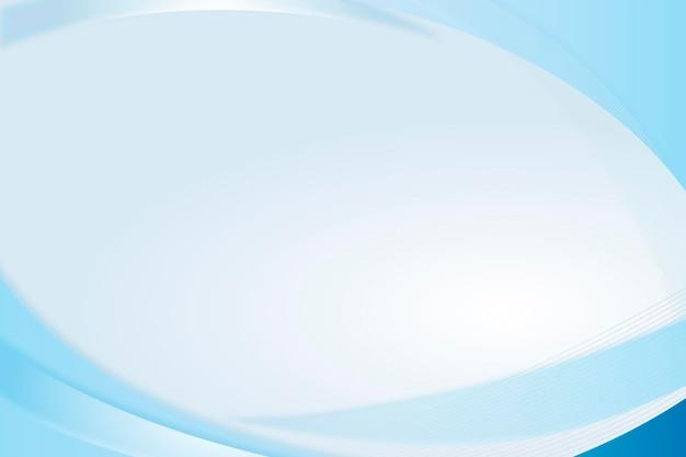 青い曲線の背景