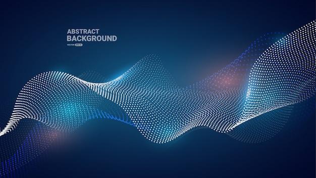 Голубая кривая частиц фона.