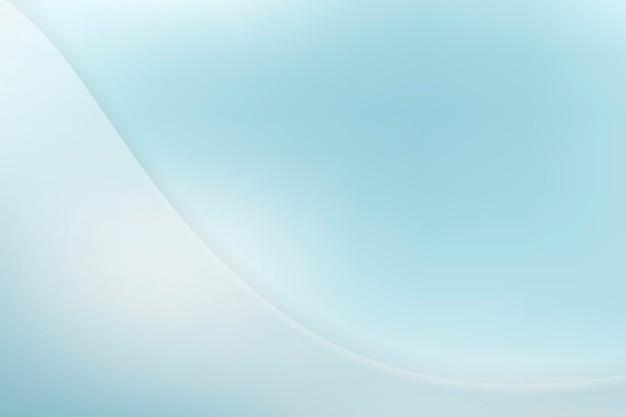 青い曲線パターンの背景
