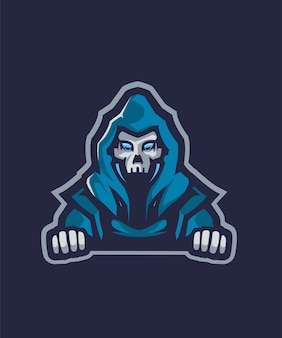 Blue devil e sports logo