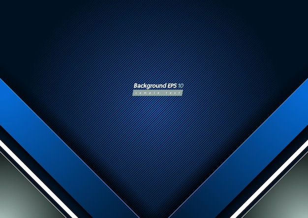 Blue diagonal line background, geometric shapes and gradient.
