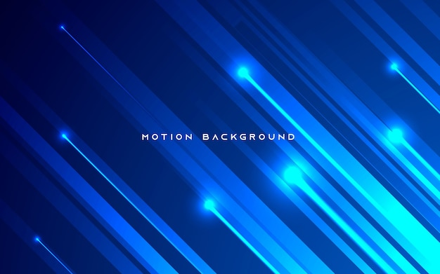 Blue diagonal motion light background
