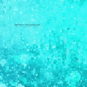 抽象的な青色ハーフトーンパターンの背景デザイン
