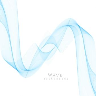 抽象的なスタイリッシュな青い波の背景