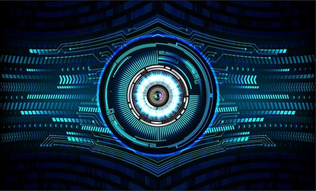 ブルーアイサイバーサーキット未来技術コンセプトの背景