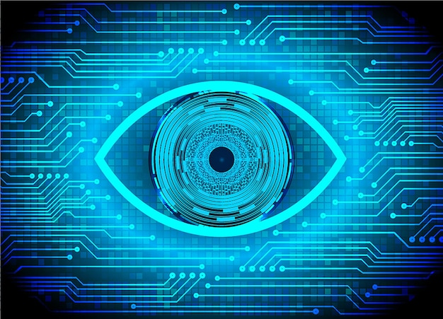 ブルーアイサイバーサーキットの将来の技術コンセプトの背景