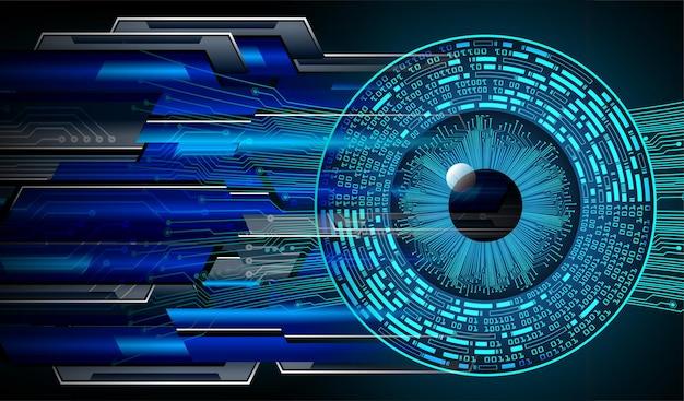 ブルーアイサイバー回路の将来の技術コンセプト