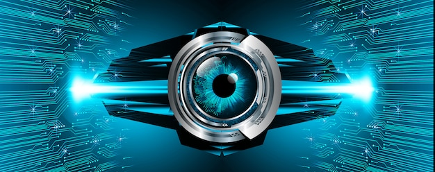 Blue eye cyber circuit future technology