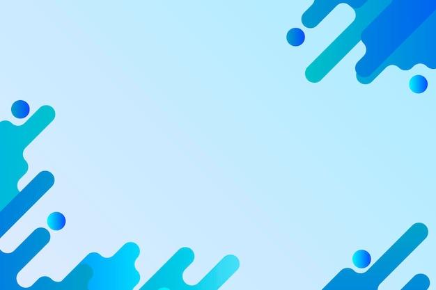 Синий жидкий фон