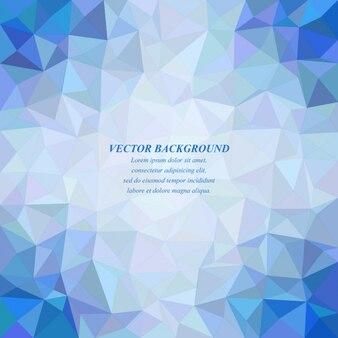Синий фон с геометрическим многоугольников