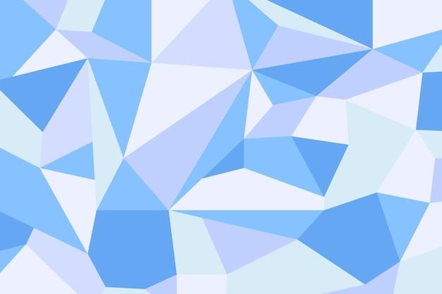 青い幾何学的な背景
