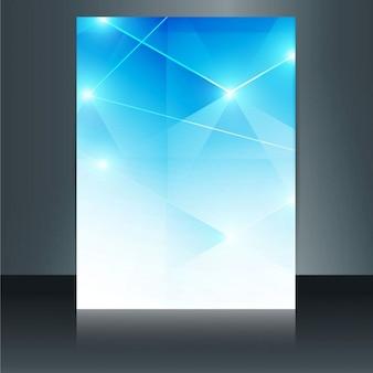 Opuscolo modello poligonale