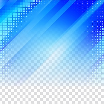 Blue geometric transparent background
