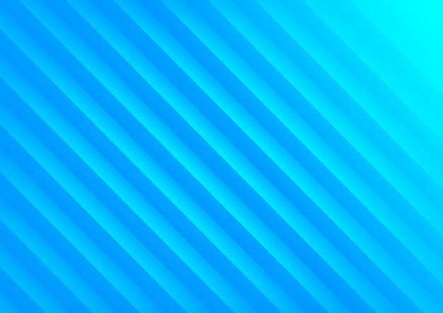 Blue geometric wave abstract background.