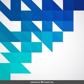Blue geometrical background