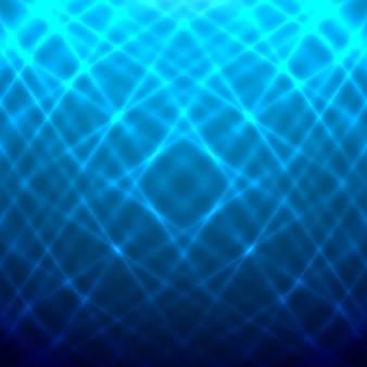 ブルーに輝く背景