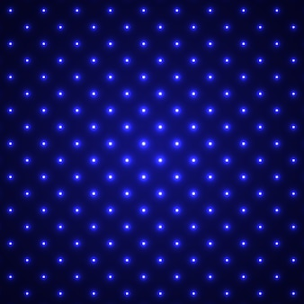 青い光る点線の背景。光の効果。 。