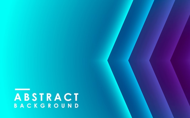 Blue gradient abstract geometric background