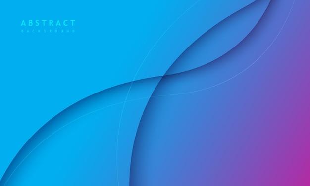 Синий градиентный фон с творческой круглой текстурой царапин