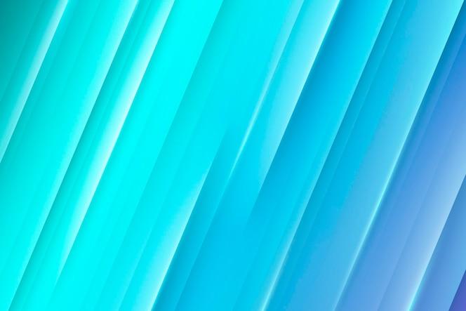 Sfondo di linee dinamiche sfumate blu